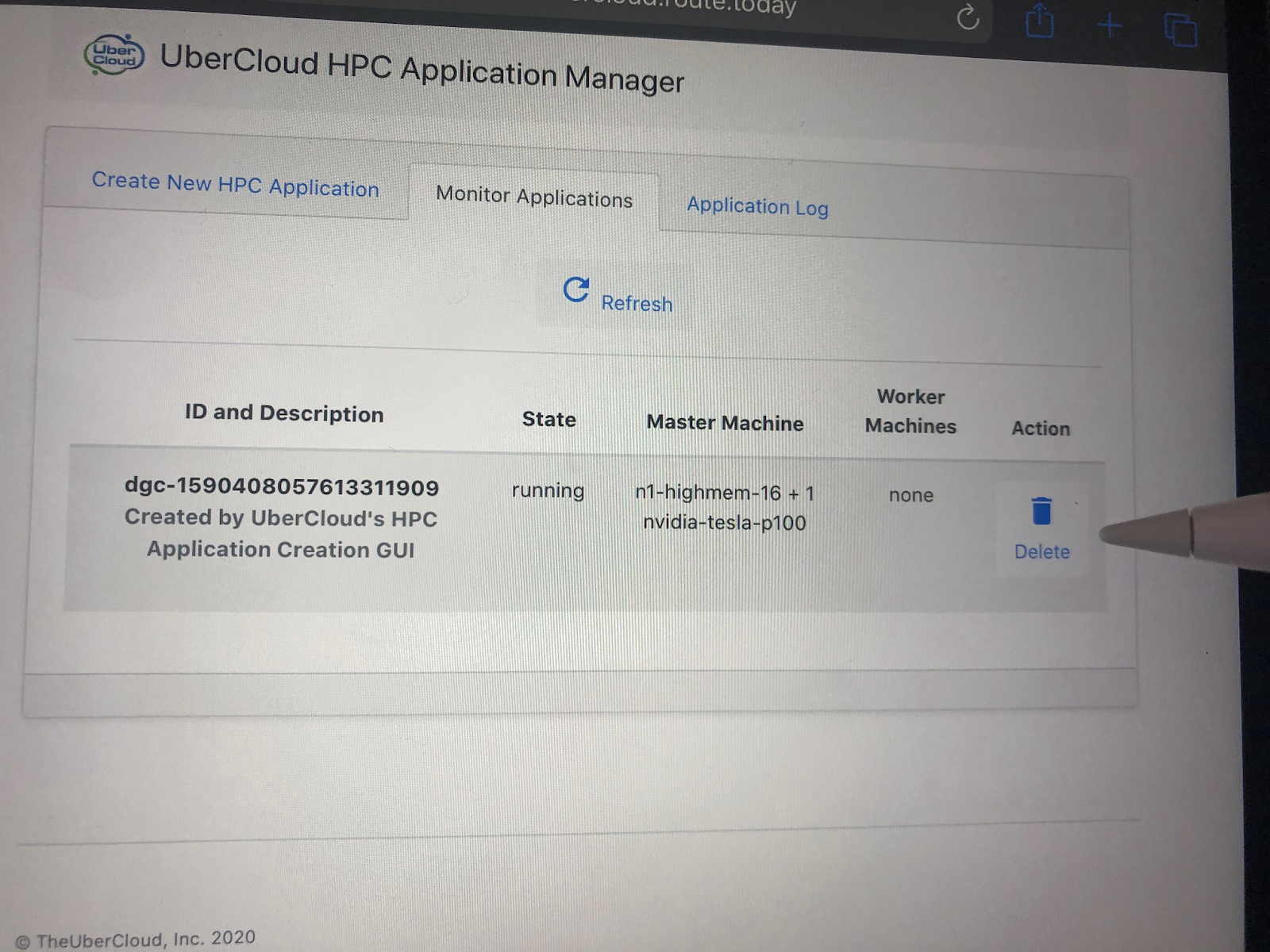 UberCloud HPC Application Manager